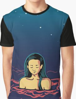 Girl in water Graphic T-Shirt