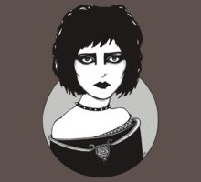 Siouxsie (Plain Style Tee) by Anita Inverarity