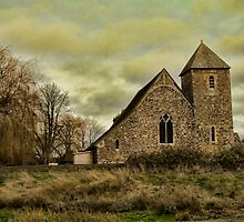 St Margaret's Church, Lower Halstow by Dave Godden