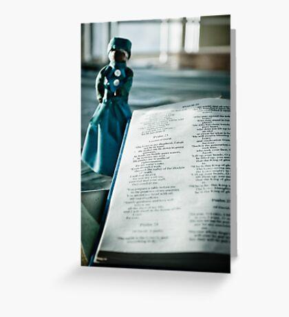 I Shall Fear No Evil ~ St Gerard's  Greeting Card