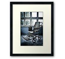 The Wheelchair ~ St Gerard's  Framed Print