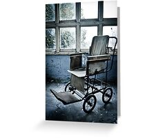 The Wheelchair ~ St Gerard's  Greeting Card