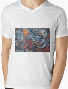 Abstract - colours  Mens V-Neck T-Shirt
