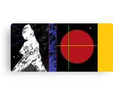 walkin da tao on the dharma road or a little tao goes a long way Canvas Print