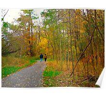 Sunday walks Poster