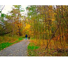 Sunday walks Photographic Print