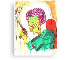 Mars Attacks! Fan Art Canvas Print