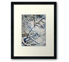 Another Winter Falls Into Spring Framed Print