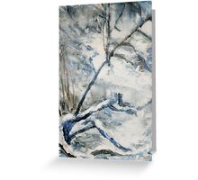 Another Winter Falls Into Spring Greeting Card
