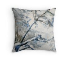 Another Winter Falls Into Spring Throw Pillow