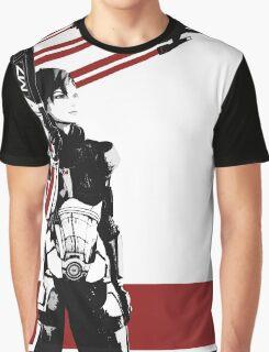 N7- Commander Shepard (Female) Graphic T-Shirt