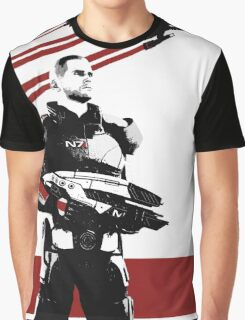 N7- Commander Shepard (Male) Graphic T-Shirt