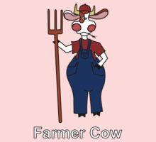 Farmer Cow Kids Clothes