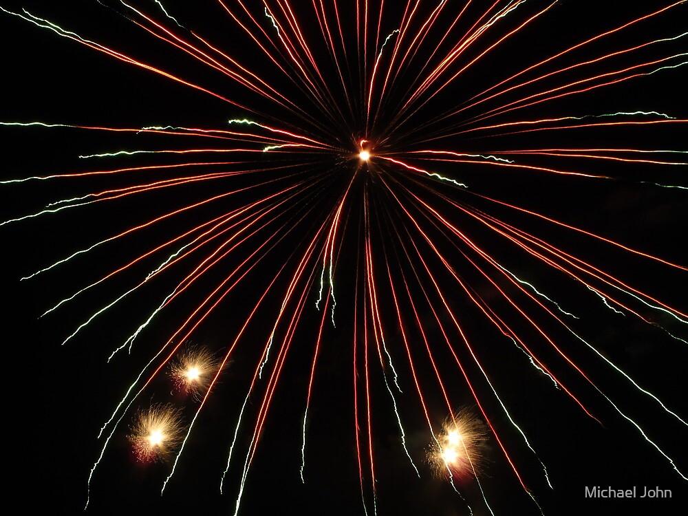 Fireworks by Michael John