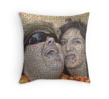 2011 in review Throw Pillow