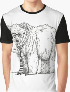Go into Busines with a Grizzly Bear (2) Graphic T-Shirt