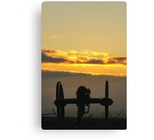 Sunrise on the Battlefield Canvas Print