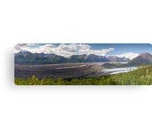Alaskan Glaciers Metal Print