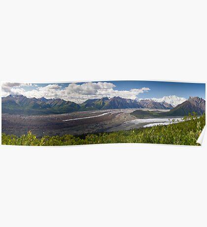 Alaskan Glaciers Poster