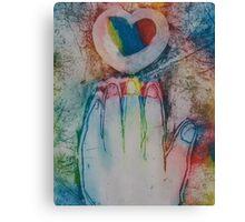 Reach for the Rainbow Canvas Print