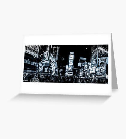 Times Square (b&w) 2 Greeting Card