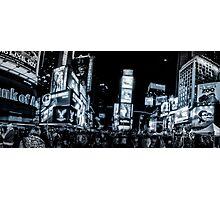 Times Square (b&w) 2 Photographic Print