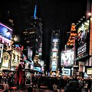 Times Square 2 by Robin Black