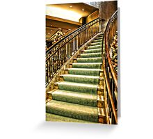 Tiffany's Staircase Greeting Card