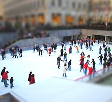 Ice Skating at Rockefeller by Robin Lee