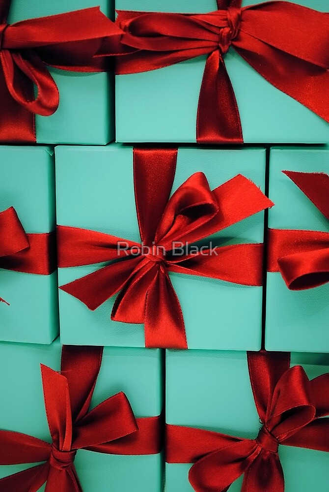 Tiffany's Boxes 3 by Robin Lee
