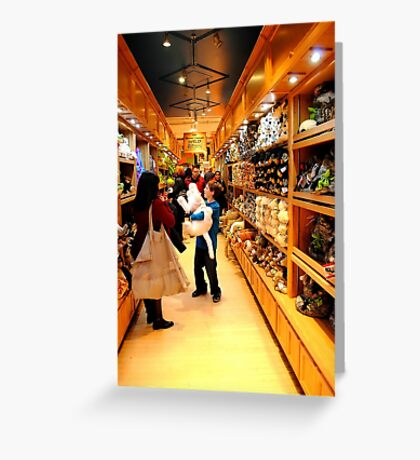 FAO Schwarz Greeting Card