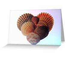 Seashell Heart Greeting Card