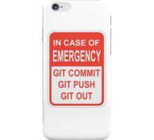 Git Out iPhone Case/Skin