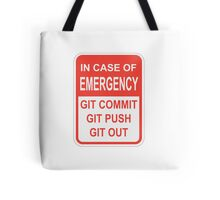 Git Out Tote Bag