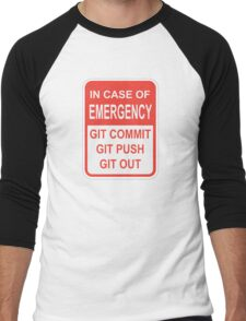 Git Out Men's Baseball ¾ T-Shirt