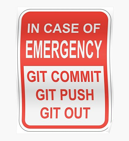 Git Out Poster