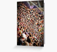 Football Fans Greeting Card