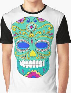 Sugar skull mexican folk art Graphic T-Shirt