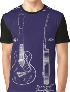 Gretch Guitar 1941 Patent Graphic T-Shirt