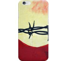 Abstract - barbed wire  iPhone Case/Skin
