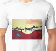 Abstract - barbed wire  Unisex T-Shirt