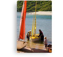 Summer recreation Canvas Print