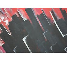 Abstract - blocks  Photographic Print