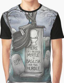 Grim Grinning Myrtle Graphic T-Shirt