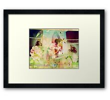 its easier to dream when you have wings Framed Print