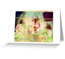 its easier to dream when you have wings Greeting Card