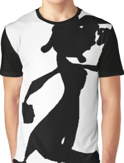 Daxter Silhouette - Black Graphic T-Shirt