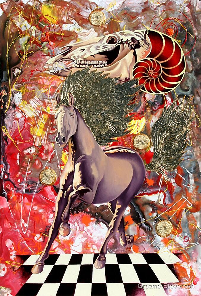Equine evolution by Graeme  Stevenson
