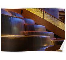 Crown Atrium Waterfall Poster