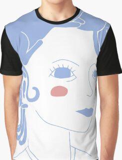 Cat Hair Girl Graphic T-Shirt